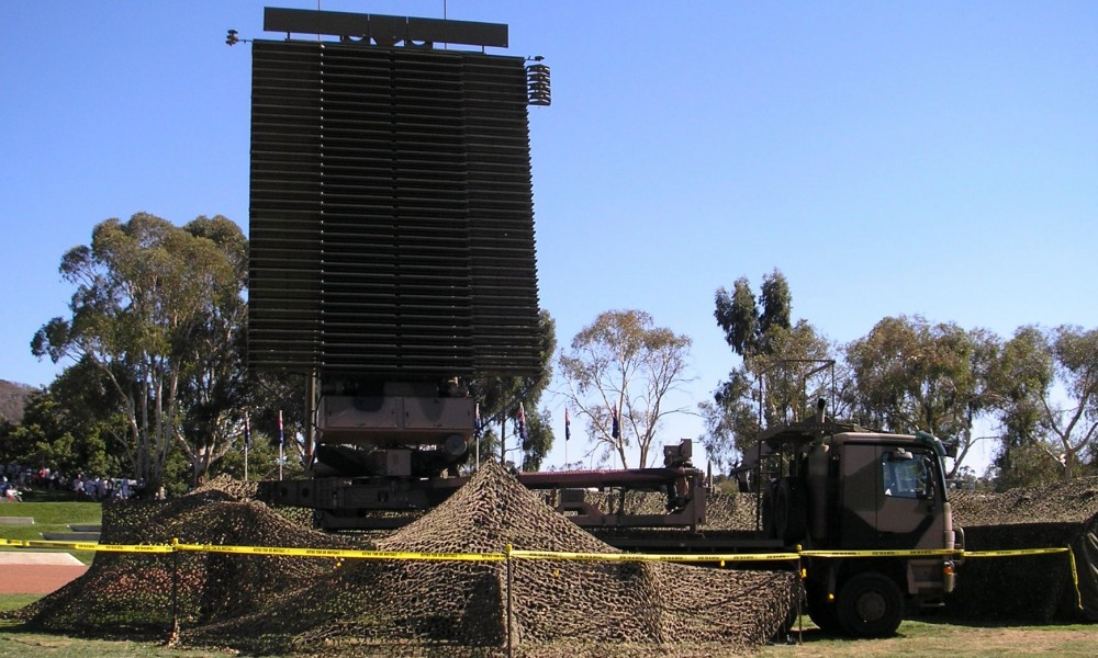 Мобильная трёхкоординатная радиолокационная станция AN/TPS-77. Фото из Википедии