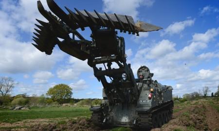 """""""Terrier"""" - универсальный инженерный танк британской армии. Фото """"BAE Systems"""""""