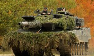 """Основной боевой танк """"Leopard 2"""". Фото из Википедии"""