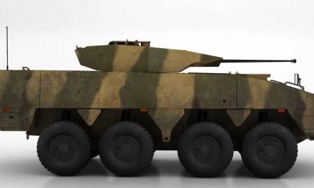 """Многоцелевая машина """"Patria AMV"""". Изображение Humster3D.com"""