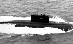 Многоцелевая дизельная подводная лодка серии 636. Фото с сайта militaryrussia.ru