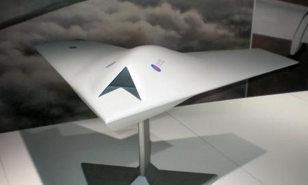 "Модель  ""BAE Systems Taranis"". Фото из Википедии"